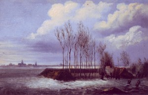 dijkdoorbraak 5 maart 1855 landscape kl website